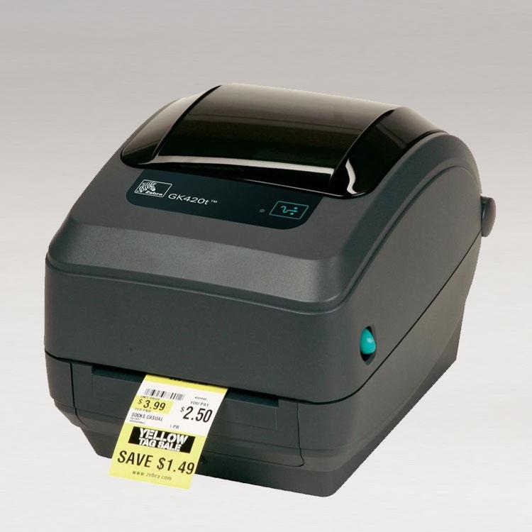 drukarki zebra GK Series