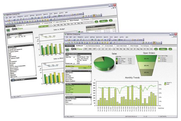 analizy Qlik View